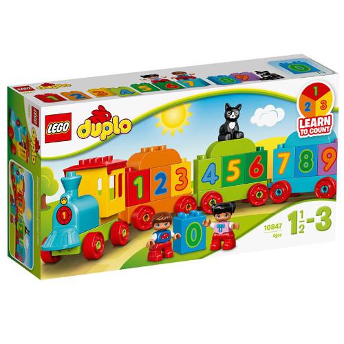 DUPLO - Trenul cu Numere 10847, LEGO