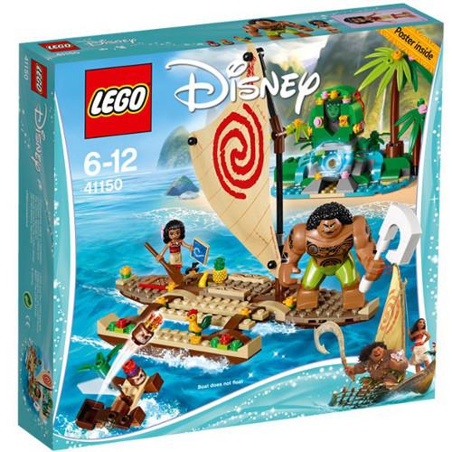 Disney - Vaiana si Calatoria Ei pe Ocean 41150, LEGO