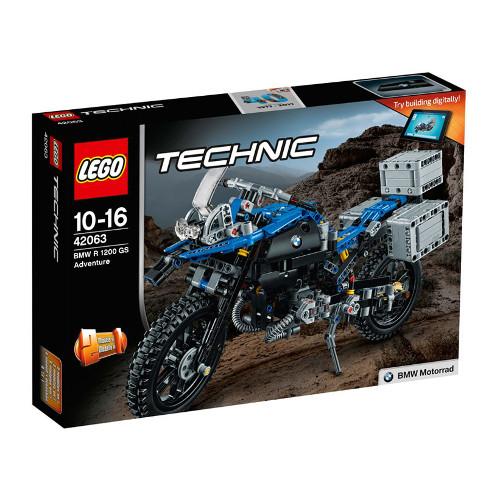 Technic - Motocicleta BMW R 1200 GS Adventure 42063, LEGO