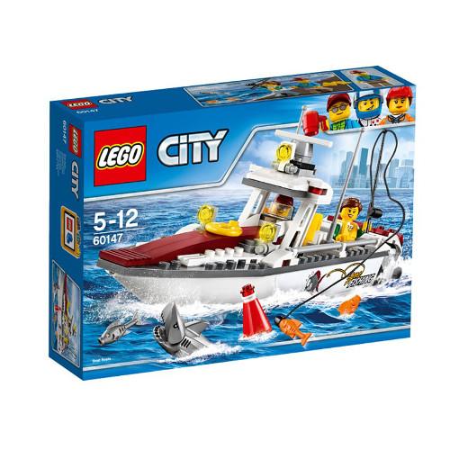 City - Barca de Pescuit 60147, LEGO