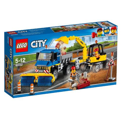City - Maturatoare Mecanica si Excavator 60152, LEGO