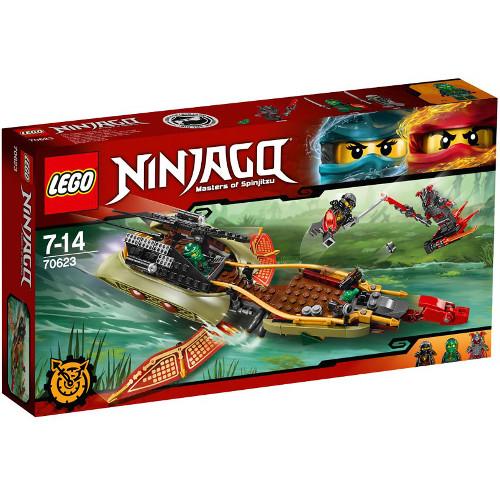 NINJAGO - Barca Multifunctionala Destiny s Shadow 70623, LEGO