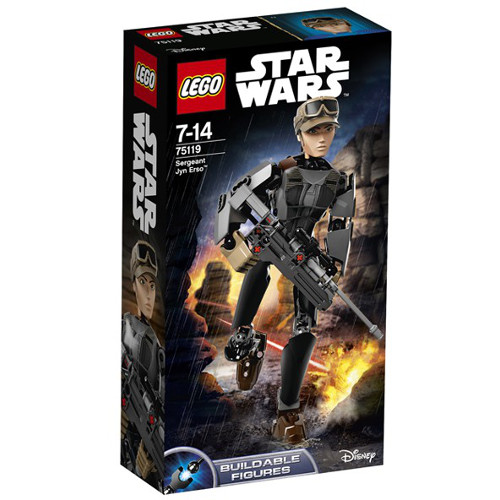 Star Wars - Soldatul Jyn Erso 75119, LEGO