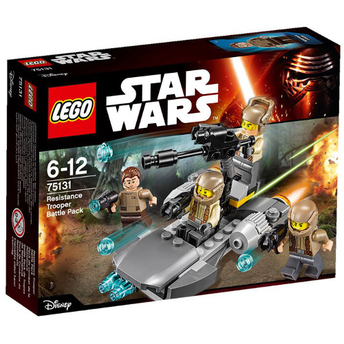 Star Wars - Pachet de Lupta Resistance Trooper 75131, LEGO