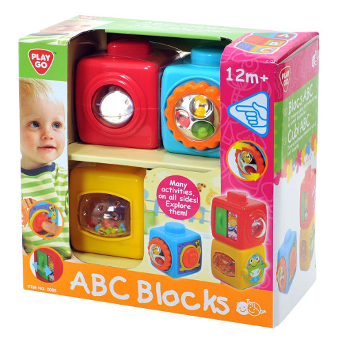 Set Cuburi ABC, PlayGo