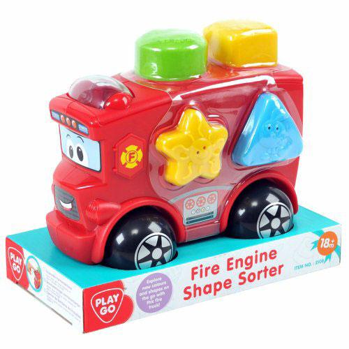 Sortator de Forme Masinuta de Pompieri, PlayGo