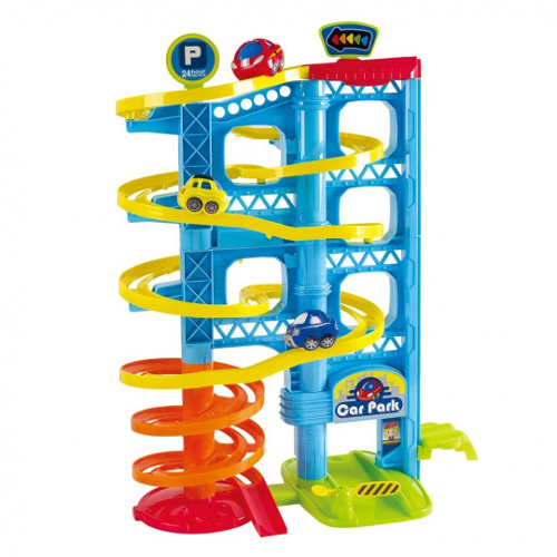 Parcare Deluxe cu 3 Nivele, PlayGo