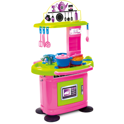 Bucatarie Chef\'s Simpla Roz, Mochtoys