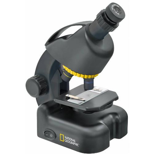 Microscop 40x-640x cu Adaptor pentru Telefon, National Geographic