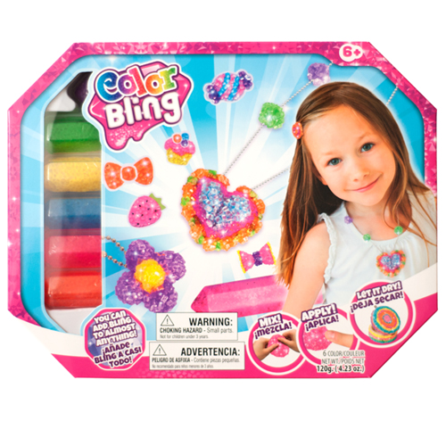 Color Bling - Set Creare Bijuterii, Santana Toys