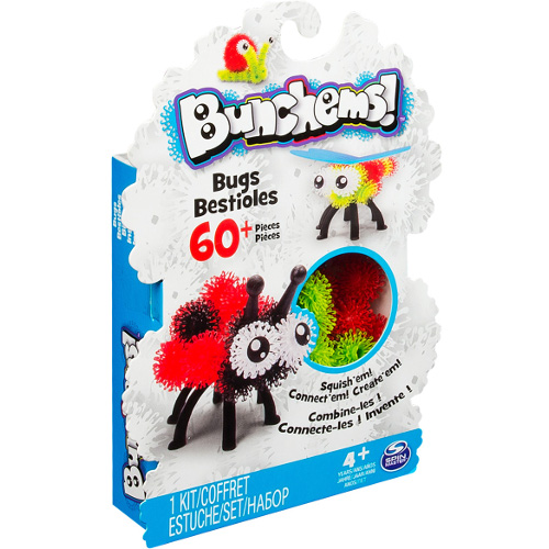 Bunchems - Set Creativ 3D Insecte, Spin Master