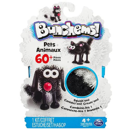 Bunchems - Set Creativ 3D Animale de Companie, Spin Master