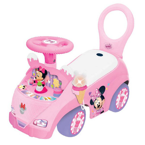 Masina Ride On Musical Minnie Mouse Fabrica de Inghetata, Kiddieland