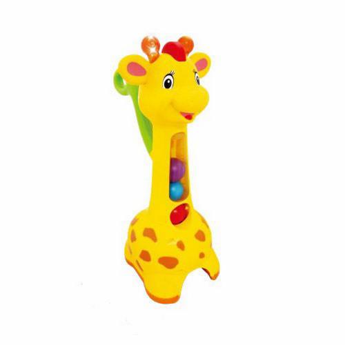 Jucarie de Impins Girafa Interactiva Pick si Pop, Kiddieland
