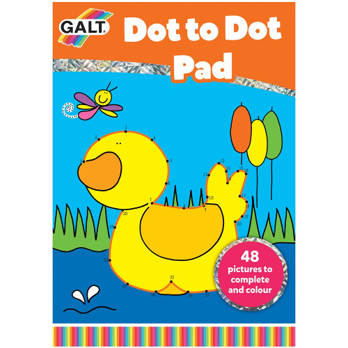 Dot to Dot Book - Carte Uneste Punctele - Ratusca, Galt