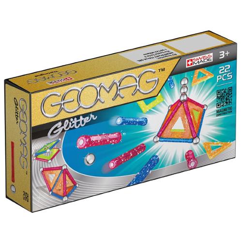 Set Constructie Magnetic Glitter 22, Geomag