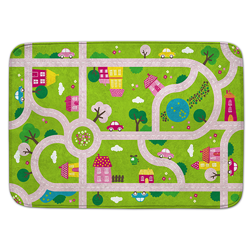 Covoras de Joaca Ultra Soft Connect - Oras Roz, House of Kids