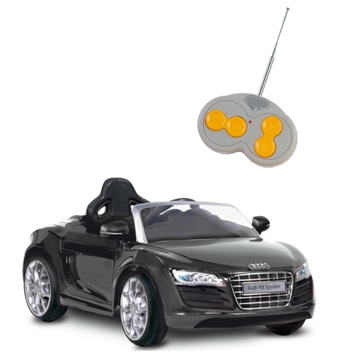 Masinuta Audi R8 Spyder Negru, Biemme