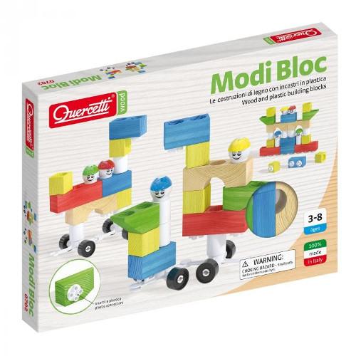 Joc Constructie Modi Bloc 30 piese, Quercetti