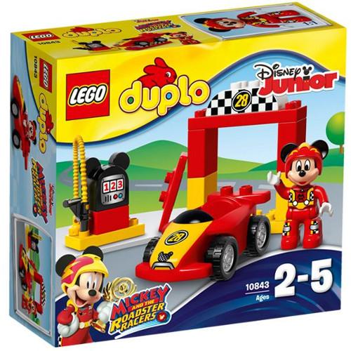 DUPLO - Masina de Curse a lui Mickey 10843, LEGO