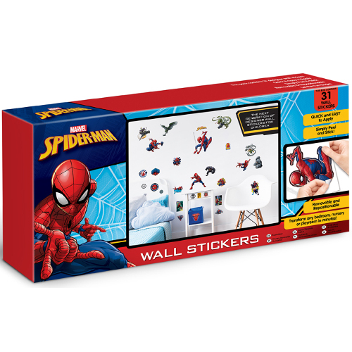 Kit Decor Sticker Spiderman, Walltastic
