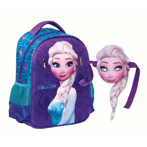 Ghiozdan Gradinita Elsa - Frozen 3D, Giovas