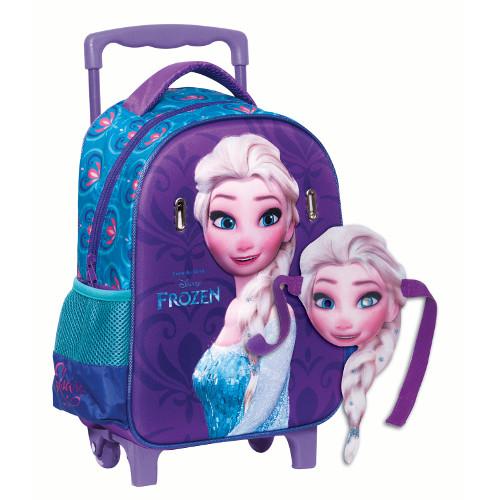 Troller Gradinita Elsa Frozen 3D, Giovas