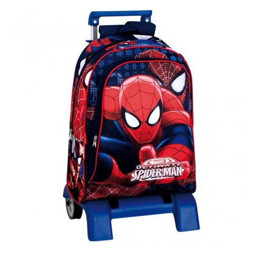 Ghiozdan cu Troler Spider-Man Eyes, BTS