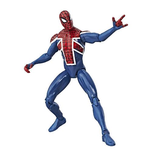 Figurina Marvel Legends Spider-Man UK 10 cm, Hasbro