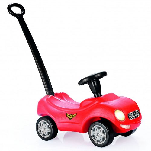 Masinuta cu Maner Racer Ride-on Car, Dolu