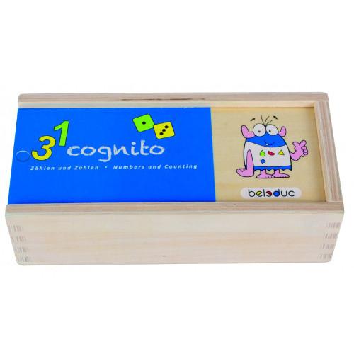 Joc Puzzle Cognito Recunoaste Numerele, Beleduc