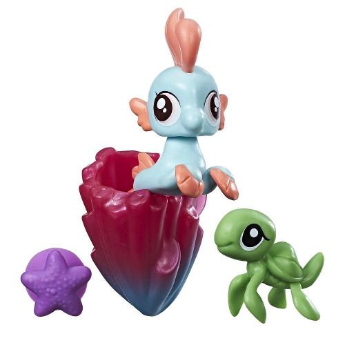 My Little Pony Figurina Ponei de Mare Bubble Splash, Hasbro