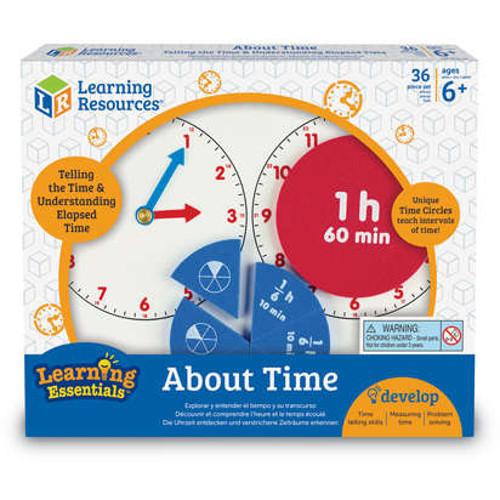 Invatam Totul Despre Timp - Fractii, Learning Resources