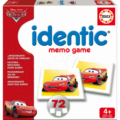 Identic Memo Games Cars, Educa