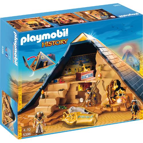 Romans and Egyptians - Piramida Faraonului, Playmobil