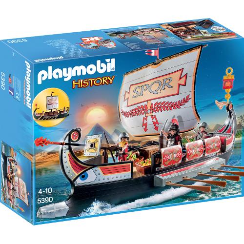 Romans and Egyptians - Nava Razboinicilor Romani, Playmobil