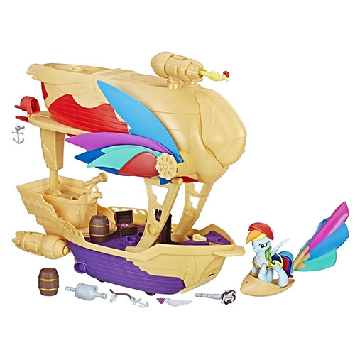 Set My Little Pony Corabia Aerului Swashbuckler, Hasbro
