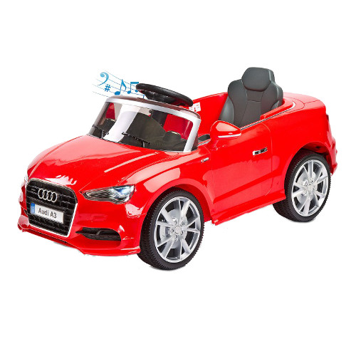 Vehicul Electric Audi A3 2 x 6V cu Telecomanda, Toyz by Caretero