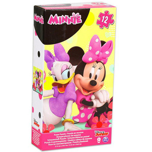 Puzzle Spuma Minnie Mouse 12 Piese, Spin Master