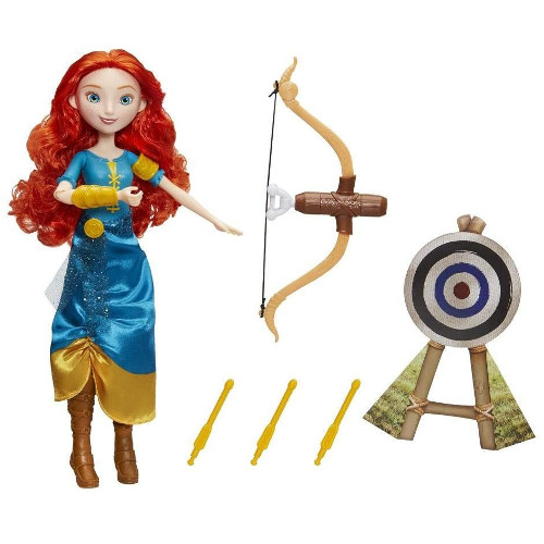 Papusa Disney Princess - Merida si Arcul pentru Aventuri, Hasbro