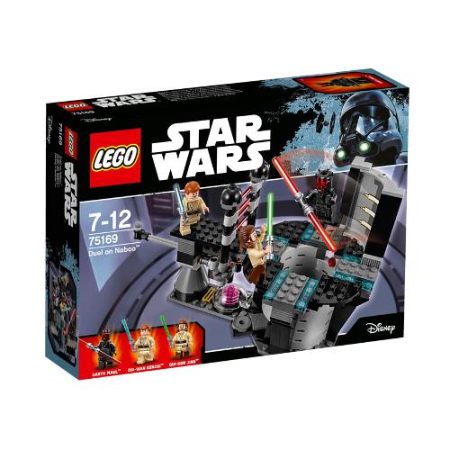 Star Wars - Duel pe Naboo 75169 Resigilat, LEGO