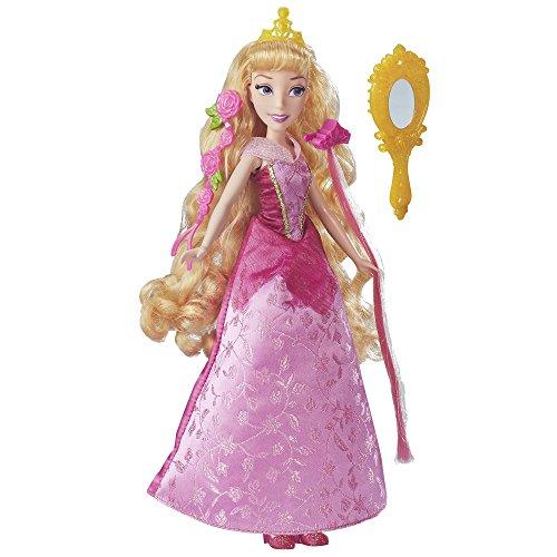 Papusa Disney Aurora cu Accesorii pentru Par 2017, Hasbro