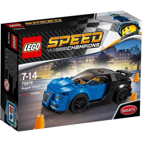 Speed Champions - Bugatti Chiron 75878, LEGO