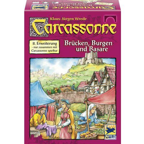 Carcassonne Extensia VIII - Poduri, Castele si Targuri, Schmidt