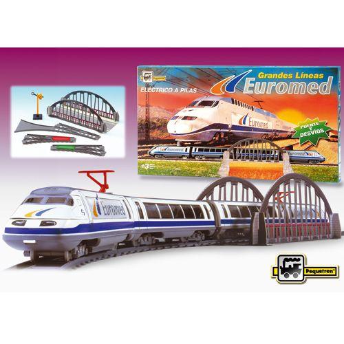 Trenulet Electric Euromed, Pequetren