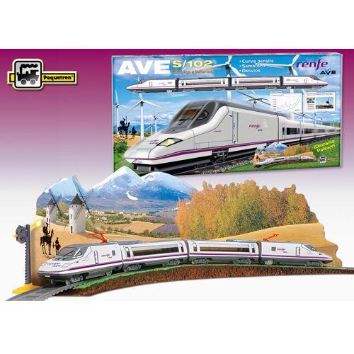 Trenulet Electric Renfe Ave S-102, Pequetren