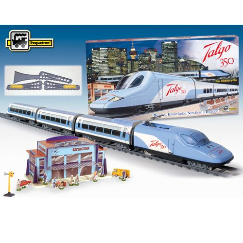 Trenulet Electric Talgo 350 , Pequetren