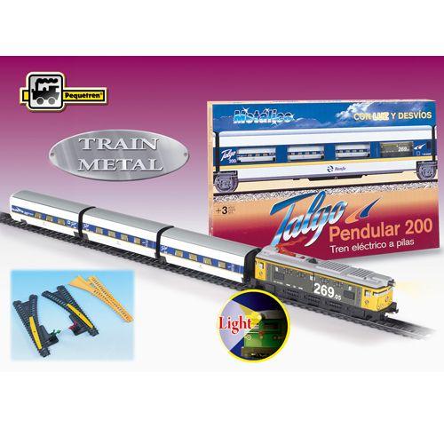 Trenulet Electric Talgo Pendular 200 cu Macaz, Pequetren