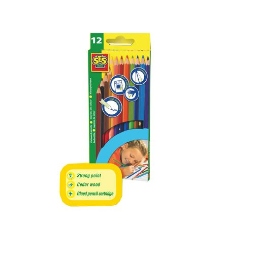 SeS - Set 12 Creioane Colorate