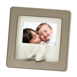 Photo Sculpture Frame Taupe - Accesorii Bebelusi Baby Art by BBC